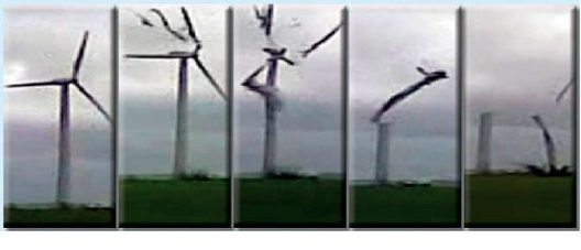 WIND TURBINE 01 Breaking up