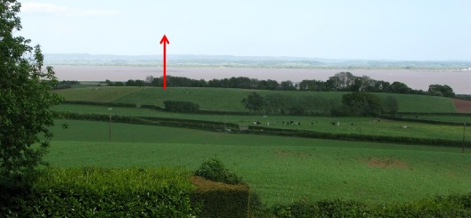 WIND TURBINE LOCATION to SCALE 02 from PHILPOTS COURT FARM